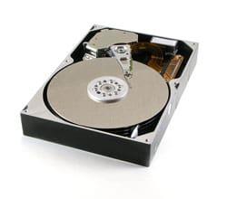hard drive ready for data destruction