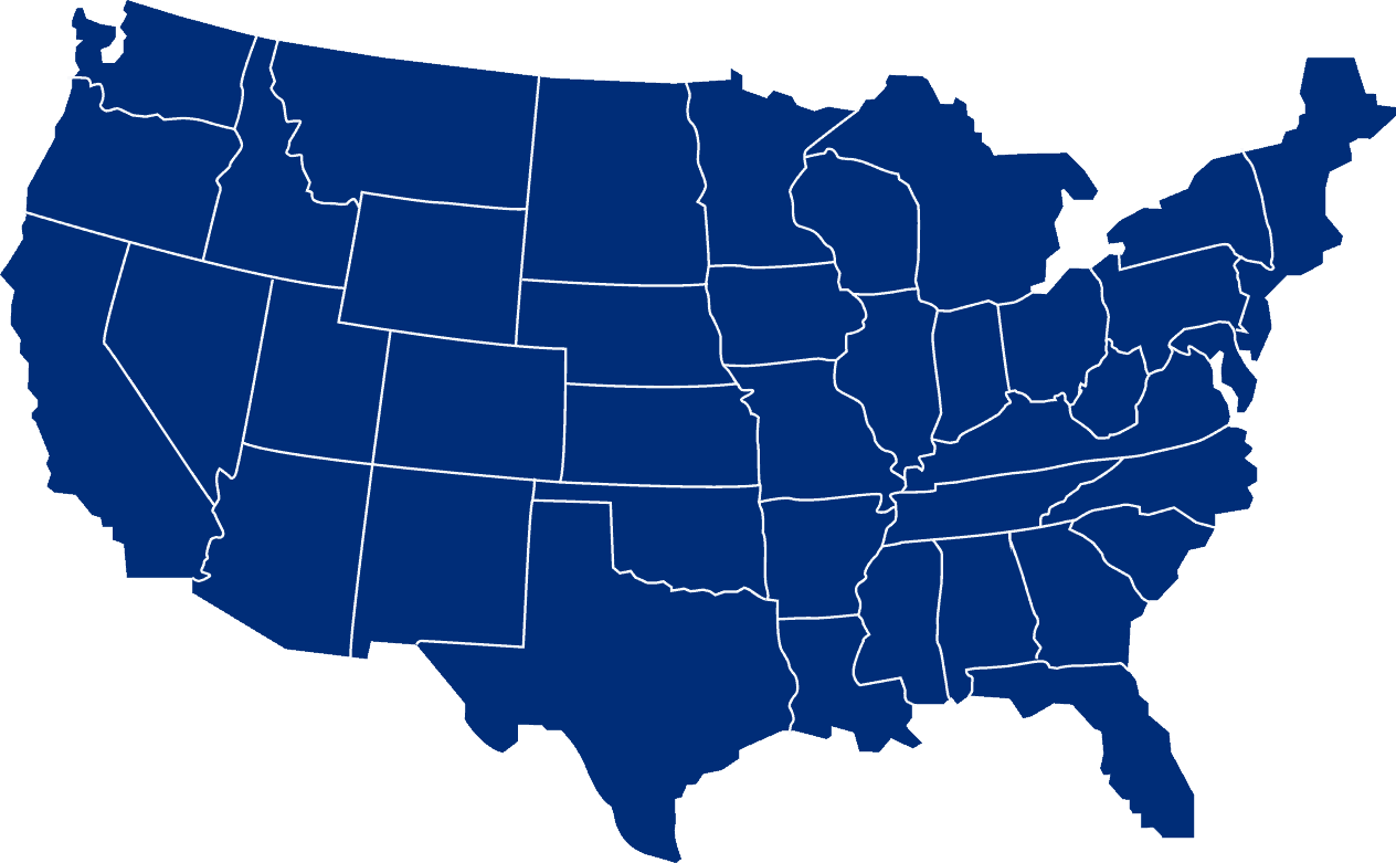 Locations for office liquidation in the USA